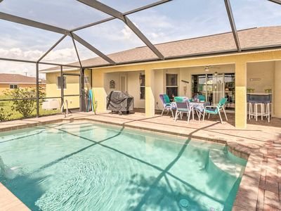 Photo for NEW! Cape Coral Family Home w/Grill, Pool & AC!
