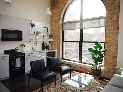 Photo for Synagogue 213 · Briar Rose -Chic Uptown Studio Blocks from Lake