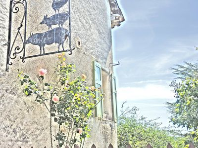 Photo for Beautiful village house 180 m2 stunning views, quiet with south facing garden