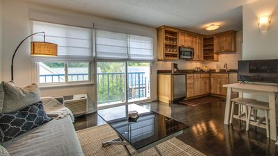 Photo for Beautifully renovated condo with parking in town on Rehoboth Avenue!