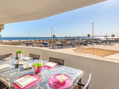 Photo for Apartment with sea views with 3 bedrooms and pool