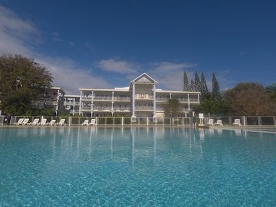 Photo for Saint Francois Duplex with pool tennis wifi 4pers Promo -20% stay> 15nights