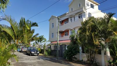 Photo for Rent Mauritius self catering flat 200 m to Trou aux biches beach.Free 24/7 wifi