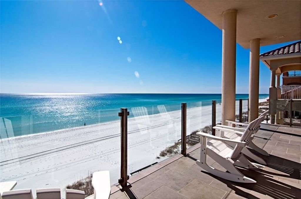 Maison du soleil private beach ocean front direct - 1 bedroom condos in destin fl on the beach ...