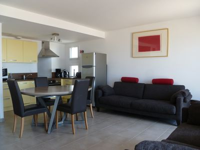 Photo for APARTMENT T3 SEA FACE SAINT GILLES CROIX DE VIE