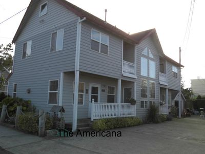 Photo for 3 Story townhouse 2 blocks to the beach or downtown.  Sleeps up to 6.