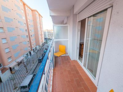 Photo for Apartment ideal for families, with balcony and near the Convent of Blanes.