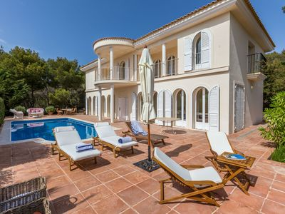 Photo for Catalunya Casas: Stunning Villa Cala for 5 guests, just 3 min to the beach!