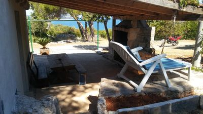 Photo for Secluded house with a parking space Cove Borova, Hvar (K-13526)