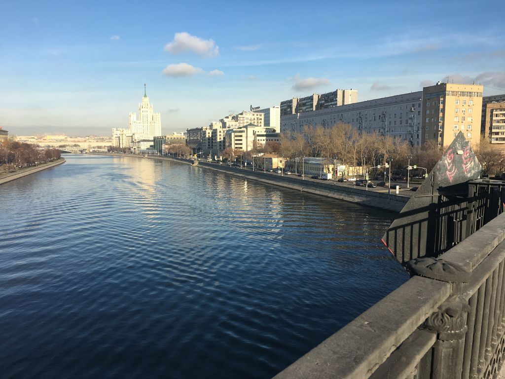 Exclusive Modern French 2-room flat on the river in the heart of Moscow Photo 1