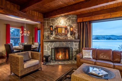 Wood burning Fire Place