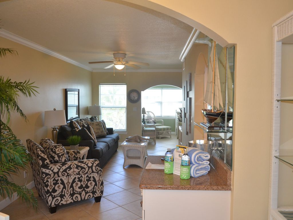 Welcome To Your Florida Home Barefoot Beach Resort Updated Unit New Furniture Indian Shores