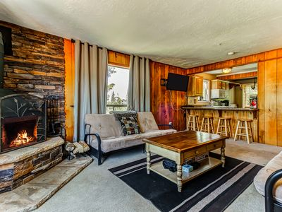 Photo for NEW LISTING! Two dog-friendly, ski-in/out condos w/ scenic wooded views