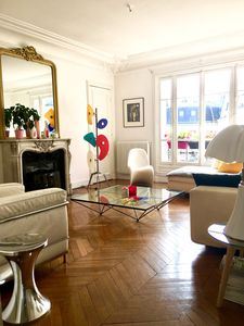 Photo for Beautiful Haussmanian apartment - Quartier des ternes