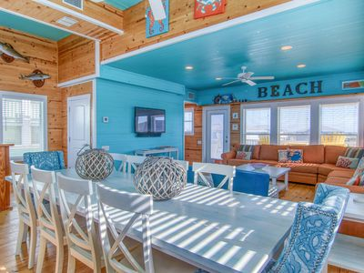Photo for Looney Dunes: PRIVATE POOL, Ocean Views, Free Golf Cart, Rooftop Deck
