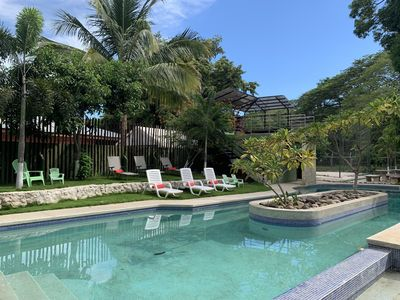 Photo for Charming 2 bedroom and 2 baths apartment walking distance to the beach