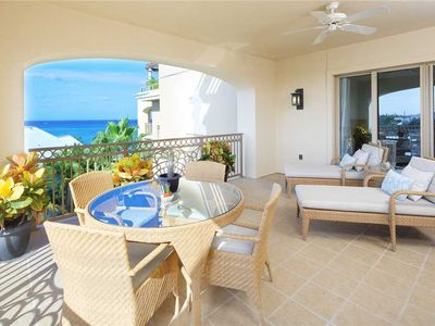 Island Ocean View Apartment located at The RitzCarlton steps away from the Beach