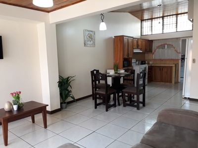 Private Apartment House 2 Bedroom 5 mins SJO Airport Furnished Spacious Kitchen