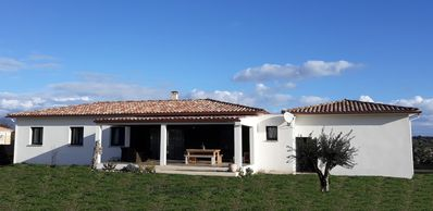 Photo for Aleria, recent villa T4 130m ² any comfort with swimming pool