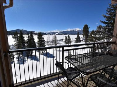 Photo for Newly Renovated Unit! Spectacular Views Overlooking Lake Dillon Marina!