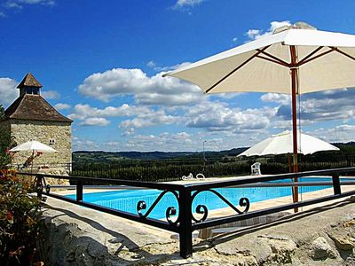 Photo for Le Colombier, character house with pool for 6 people
