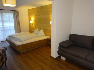 Photo for Double room, shower, toilet, balcony (No. 8) - Tannenhof, guesthouse