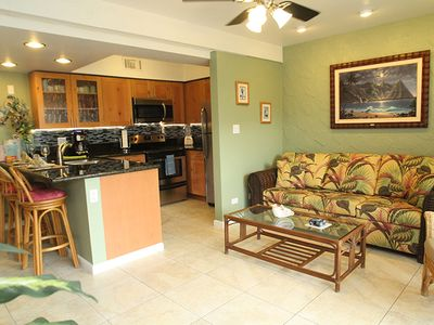 Photo for Tropical Getaway w/ Private Lanai, Shared Fresh Water/Salt Water Pools