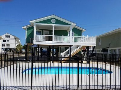Photo for 3 Bedroom 2 Bath Beach House with Private Pool~Anchors Away