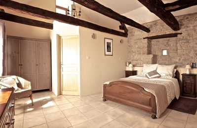 Photo for Maison Jasmine, Charming Stone Cottage With  Pool and garden Sleeps 4