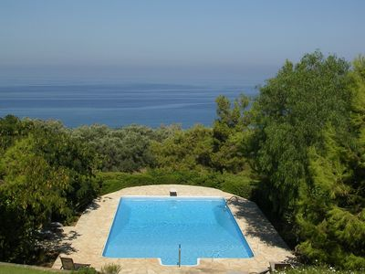 Photo for Luxury villa with pool, tennis court great value for 2 families or large group