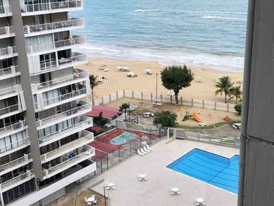 Photo for Beachfront Apartment -Isla Verde- Carolina Coral Beach Apts