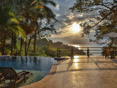Photo for Luxurious 6 Bedroom Ocean View Villa in the heart of Manuel Antonio