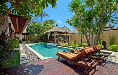Photo for Luxury Balinese Villa in Sanur: Private Beach Entrance and Private Chef