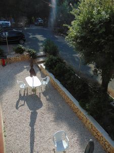 Photo for Renovated apartment surrounded by the greenery of the condominium garden