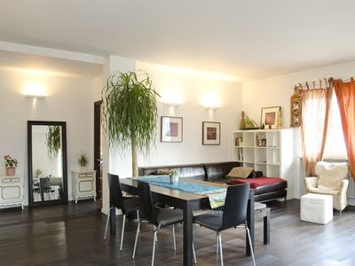 Photo for Best Zone Of Bolzano, 50m2 Terrace, Surrounded By Vineyards, 3 Bedrooms, 2 Bath