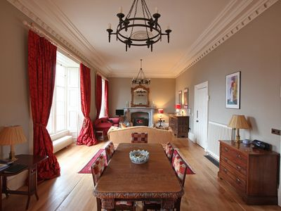 Photo for Spacious Beautiful Historic Apartment on Fife coast close to Edinburgh