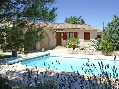 Photo for Child friendly family villa with private swimming pool and play equipment in between the vineyards