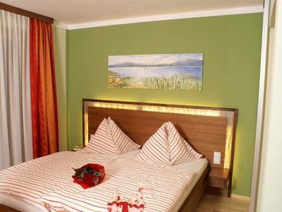 """Photo for Double room """"Nuss"""" with balcony and extra bed - mountain view"""