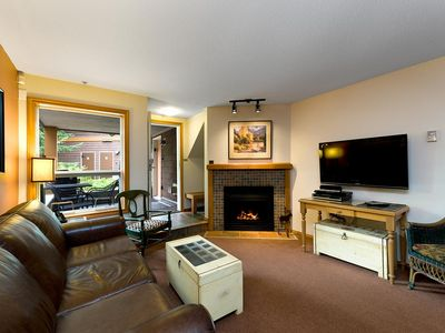Photo for 59 Glaciers Reach this 2br home has a hot tub & pool in Whistler Village