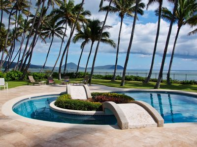Photo for Beachfront, Kahala Mini Resort,  w/2 pools, private tennis court, gated, A/C