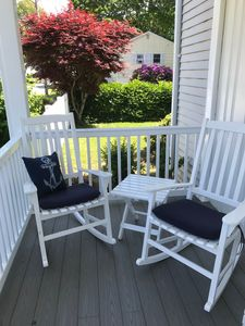 Photo for Salt Air Breezes on the porch of this just Renovated 5 BR Cornfield Point Home
