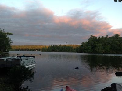 Photo for Little Sebago Lake, New Listing,Waterfront, Dock,Great View