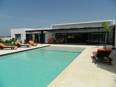 Photo for SECURE AND AIR CONDITIONED VILLA SLEEPS 12 TOTAL POSSIBLE REST