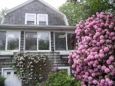 Photo for Sagamore Beach, Cape Cod - Lovely old Cape known as the 'Rose Cottage'