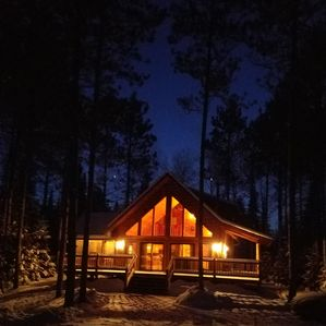 Photo for Beautiful,Trailside Retreat! Chalet style cabin at CAMBA / Birke trail head