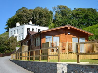 Photo for Bovisand Luxury Lodge On South Devon Coast - 200m to Beach + Indoor Heated Pool