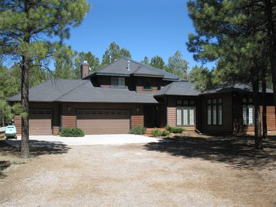 Photo for Roundtree Retreat - 4 Bedroom, 3 Bath Private Secluded Retreat