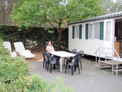 Photo for Chalet on 5 star campsite in Messanges south west France