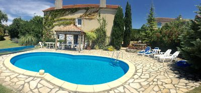 Photo for House/Villa Bezolles 5/6 people with private pool