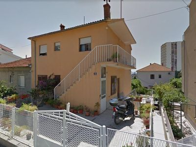 Photo for Two bedroom apartment with balcony and sea view Split (A-17079-a)
